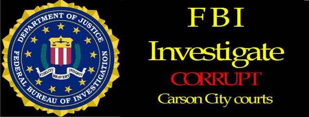 FBI protest carson city courts