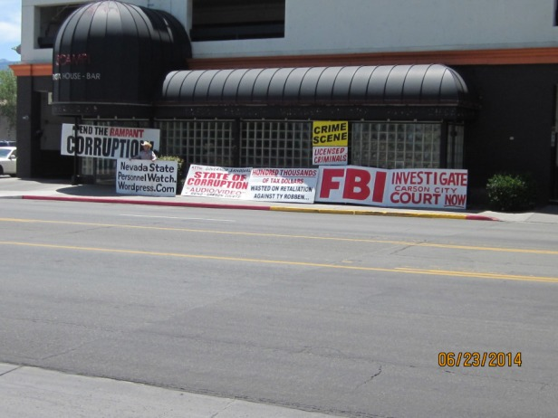 fbi protest reno