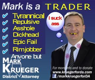 Mark Krueger for Carson City DA no way