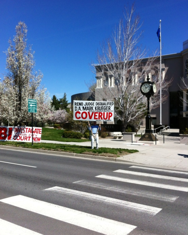 Mark Krueger Carson City district attorney scandal